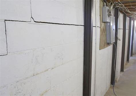 repair basement wall basement foundation repairs in vermont cracked