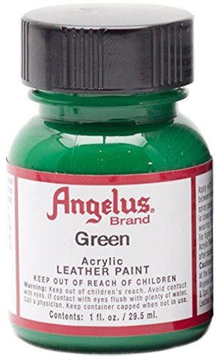 angelus paint in stores angelus acrylic paints 1oz color green ny craftworks