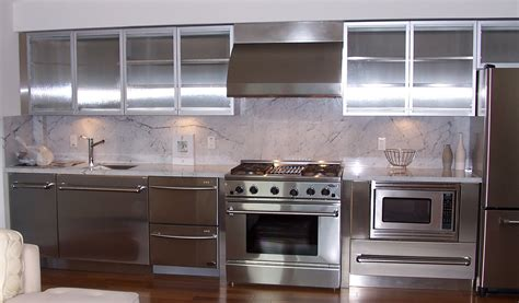 stainless cabinets kitchen stainless steel kitchen cabinets steelkitchen