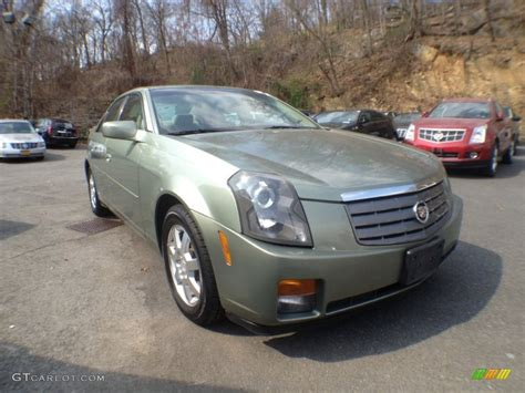 Green Cadillac Cts by Silver Green 2005 Cadillac Cts Sedan Exterior Photo