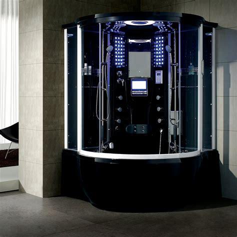 bath steam shower steam shower tub whirlpool bath combo ebay