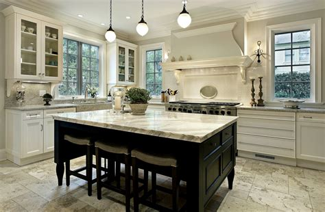 white kitchen wood island 35 beautiful white kitchen designs with pictures designing idea