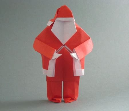 origami santa clause origami and santa claus 9 gilad s origami page