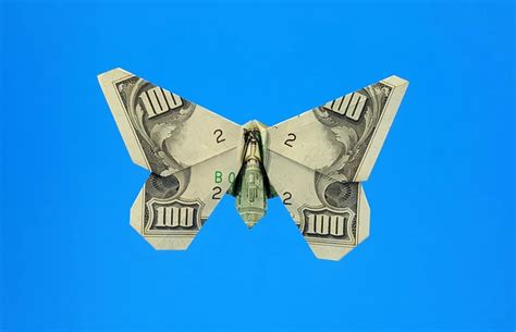 butterfly dollar bill origami michael g lafosse and richard l gilad s