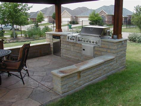 simple outdoor kitchen designs cozy open air kitchen design idea interior design