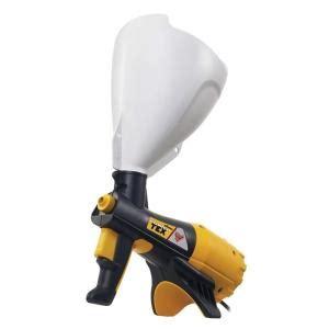 home depot milwaukee paint sprayer wagner power tex texture sprayer 0520000 the home depot
