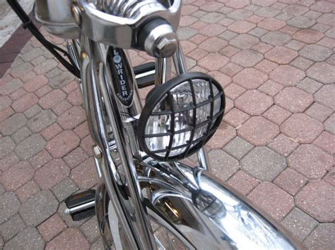 Directional Mirrors by Custom Motored Bicycles Lights Signal Chrome Bullet