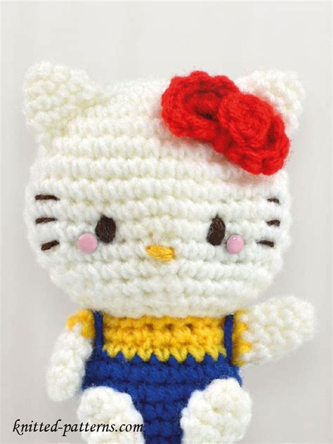 free knitted amigurumi patterns craft passions amigurumi cat free crochet pattern