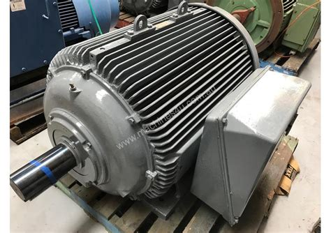 Ac Electric Motors by Used Or Unknown 185 Kw 250 Hp 6 Pole 415 V Ac Electric