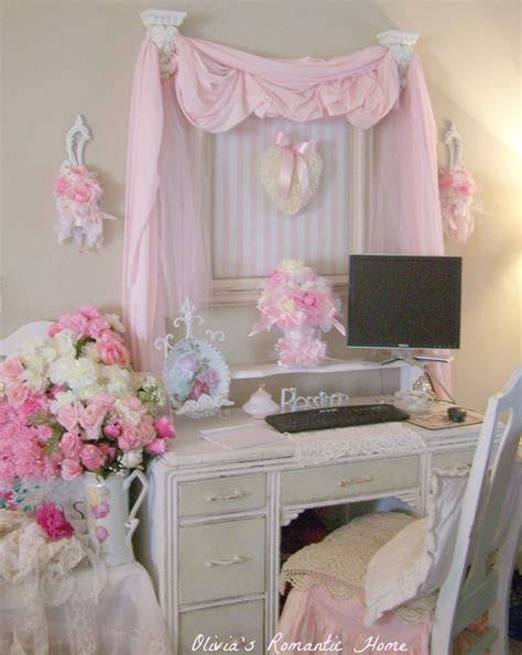 home decor shabby chic style shabby chic home office decor for tight budget office