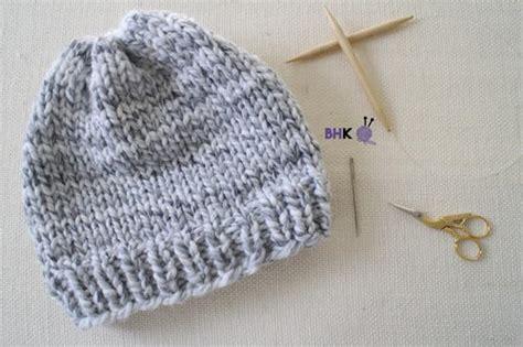 wool knitting for beginners easy knit hat for beginners allfreeknitting