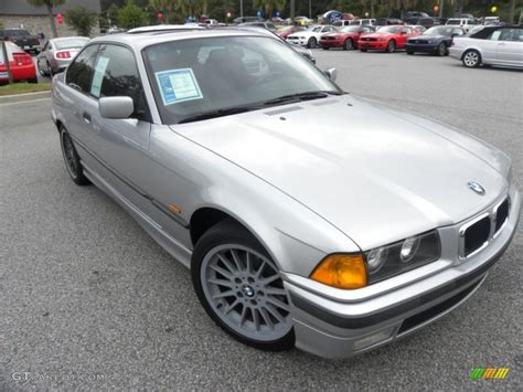 1998 Bmw 323is by 1998 Arctic Silver Metallic Bmw 3 Series 323is Coupe