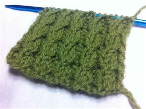 The Twisted Cable Rib Stitch Knitting Stitch 144