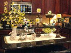 kitchen island decor 1000 images about kitchen decor on kitchen