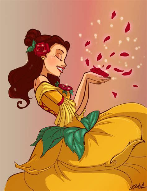 belle disney princess fan art 34251222 fanpop