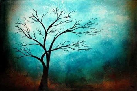 Easy Acrylic Painting Ideas Trees Easy Tree Paintings