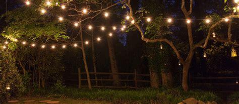 lights for backyard how to hang patio lights yard envy