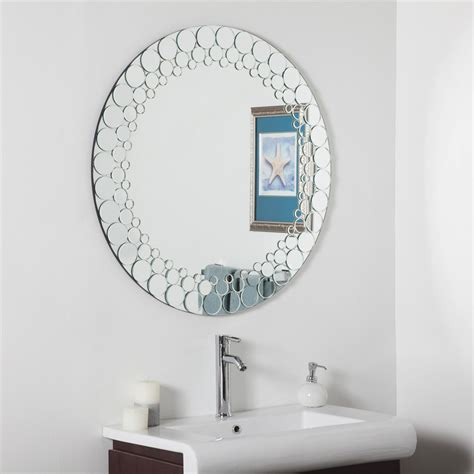 bathroom mirrors canada decor ssd005 circles bathroom mirror lowe s