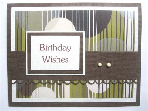 mens birthday cards to make handmade birthday card for can be personalized