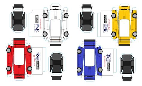 car paper craft 14 best photos of printable paper cars paper car