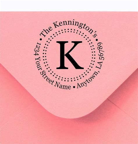 personalized rubber sts return address personalized custom made return address and name rubber