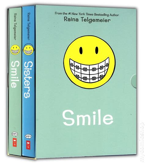 pictures of the book smile smile gn box set 2014 scholastic comic books