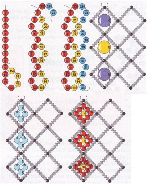 beading techniques 125 best jewelry net beading images on