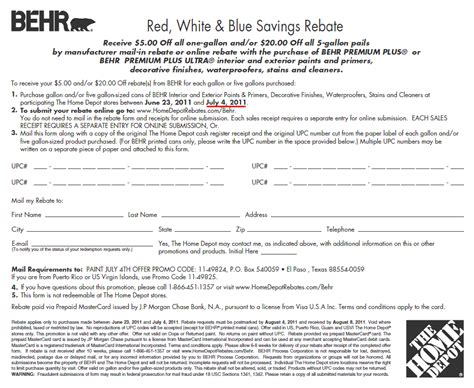 home depot paint rebate form behr coupon 2016 2017 best cars review
