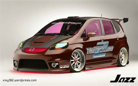 Modifikasi Mobil Jazz by Modifikasi Jazz Gambar Modif Honda Jazz Rs S Jdm