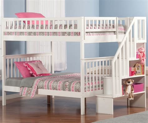 woodland bunk beds woodland stair bunk bed ab56802 atlantic