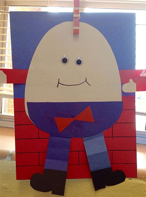 nursery craft projects 13 best images about humpty dumpty on crafts