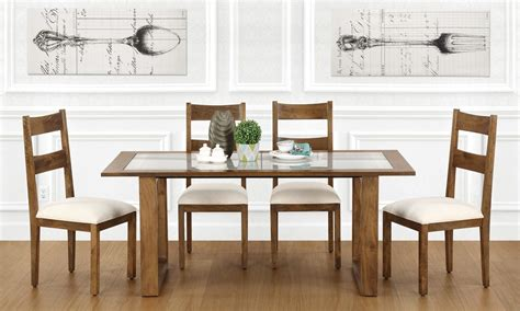 glass dining table price buy marlow 6 seater dining table glass top in