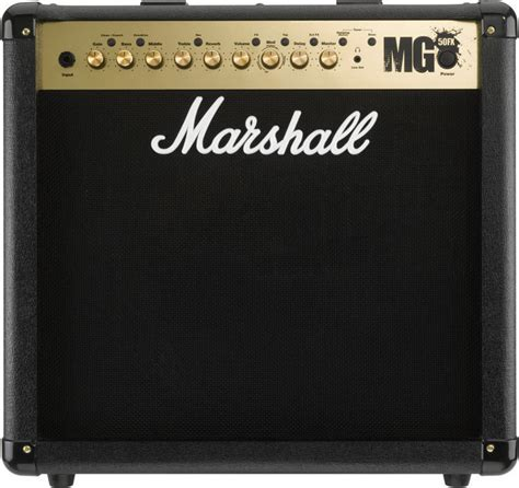 le guitariste marshall mg50fx combo 50w effets numeriques