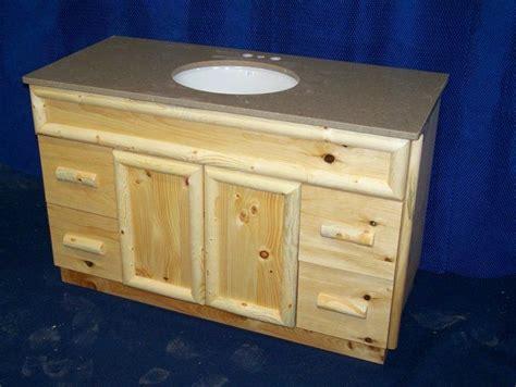 pine bathroom vanity handmade knotty pine rustic bathroom vanity by fbt sawmill