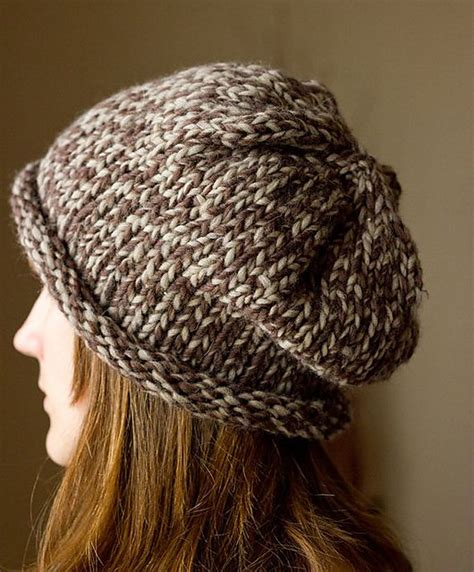 free knitting patterns for chunky wool hats free slouchy hat pattern knitting hat free patterns
