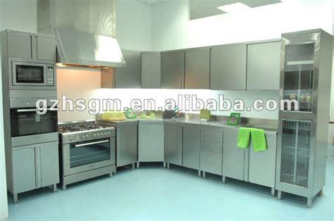 modern stainless steel furniture moderni in acciaio inox da cucina mobili unit 224 in acciaio