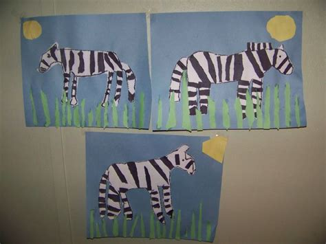 zebra craft for 1000 images about animals on zebra