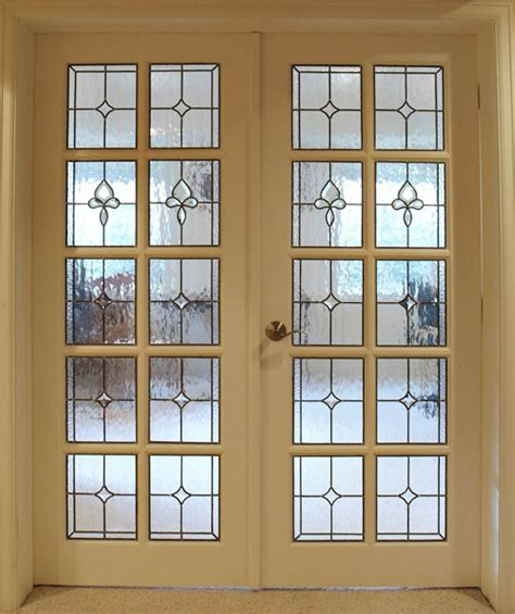 glass for door panels custom stained glass for your doors
