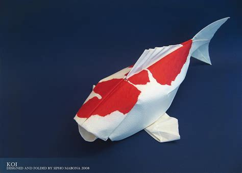 koi origami inspiration sipho mabona origami just a memo