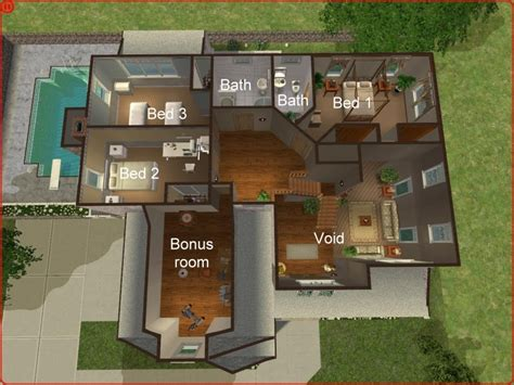 sims 3 4 bedroom house design sims 3 4 bedroom house design mod the sims 3 4 bedroom