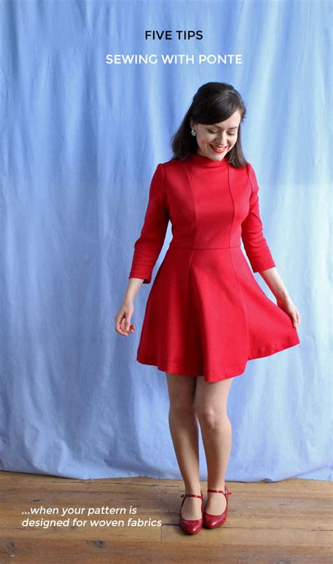 ponte knit definition tilly and the buttons five tips for sewing with ponte