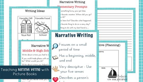picture books to teach narrative writing teaching narrative writing with picture books