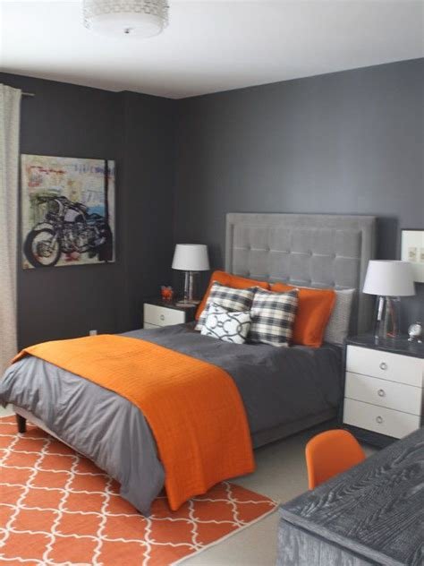 best paint color for boy bedroom the 25 best ideas about grey orange bedroom on