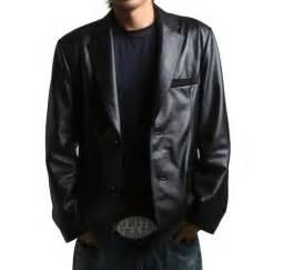 leather sleeve blazer best blazer leather jacket photos 2017 blue maize