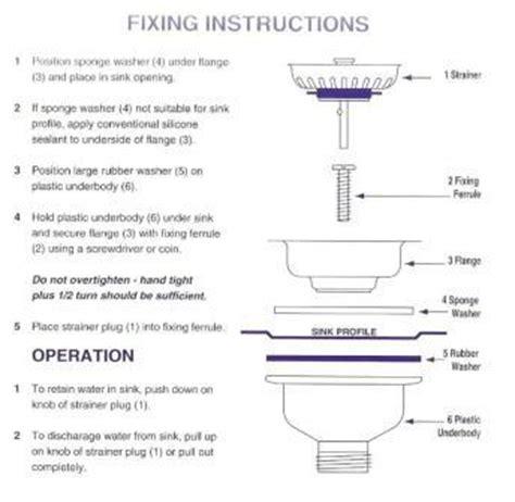 Kitchen Sink Bowl Plastic by Mcalpine Kitchen Sink Stainless Steel Basket Strainer