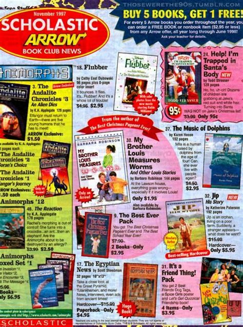 order picture books scholastic book fair growing up 90s book