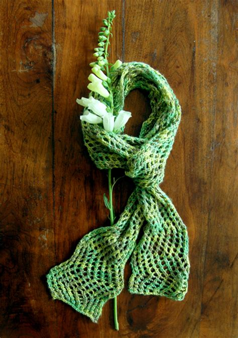 summer knitting and summer scarves to knit free patterns