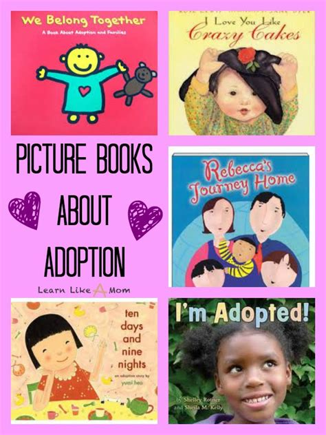 adoption picture books learn like a books about adoption learn like a