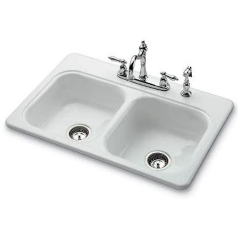 white porcelain sink kitchen kitchen sinks garnet ii top mount porcelain 33x22x7 4