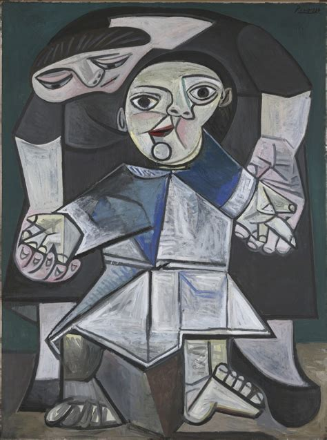 picasso paintings as a child pablo picasso and child steps 1943
